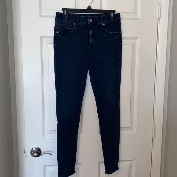 Express skinny mid rise jeans 8L